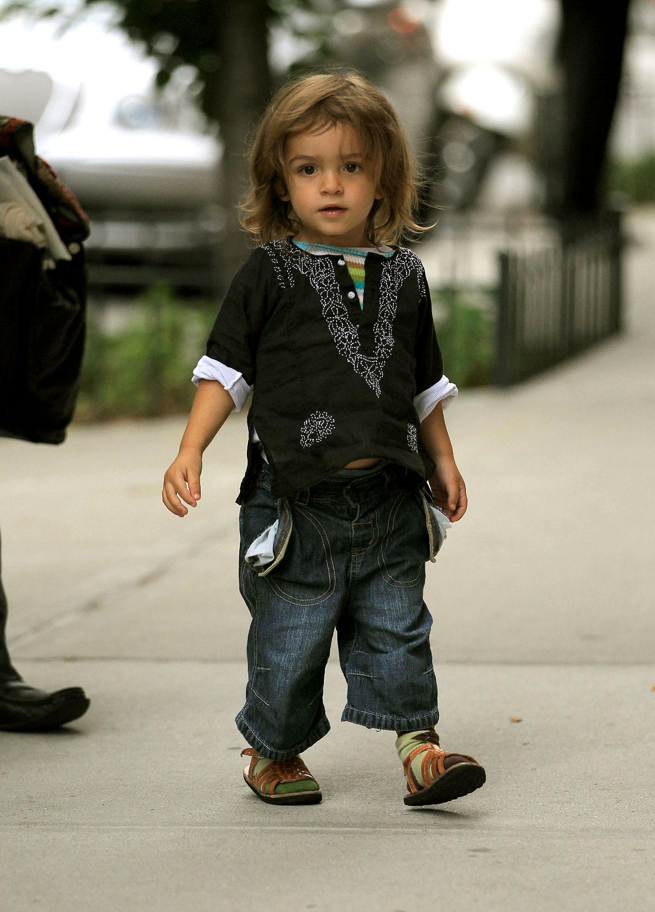 Levi McConaughey Is A Tiny Little Hippie (PHOTOS)