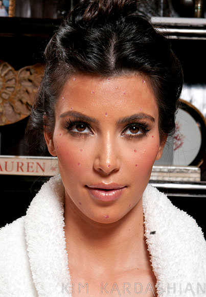 What's Going on With Kim Kardashian's Face?