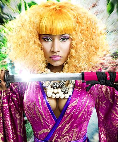Rapper Nicki Minaj Gets Sexy For New Album (PHOTOS)