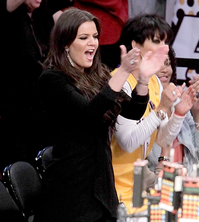 Lakers Win Brings Khloé Kardashian to Tears