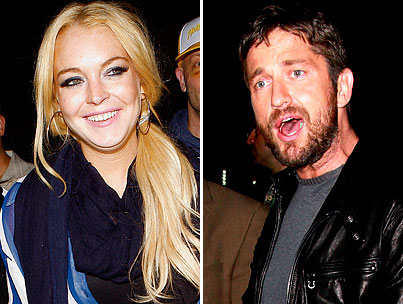 Did Lindsay Lohan Hook Up With Gerard Butler?-photo