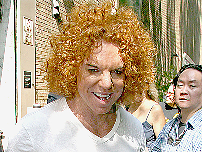 Carrot Top Hospitalized in Vegas