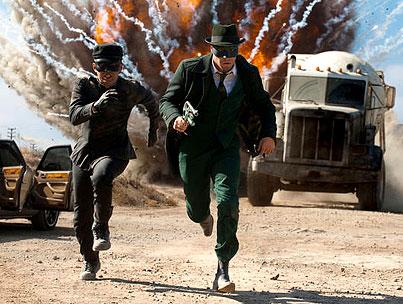 Seth Rogen as 'Green Hornet': First Official Stills