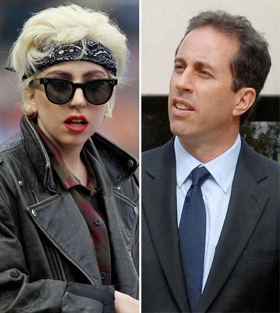 "Jerry Seinfeld Calls Lady Gaga ""A Jerk"""