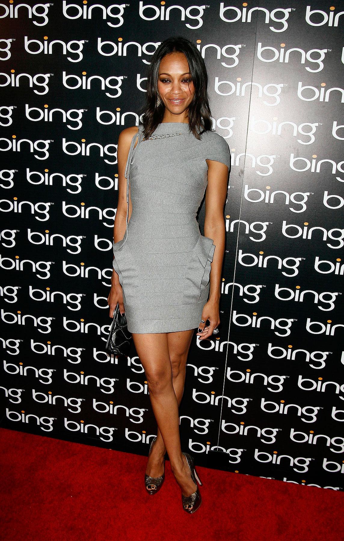 Zoe Saldana FTWs Bing's Celebration Of Creative Minds (PHOTOS)