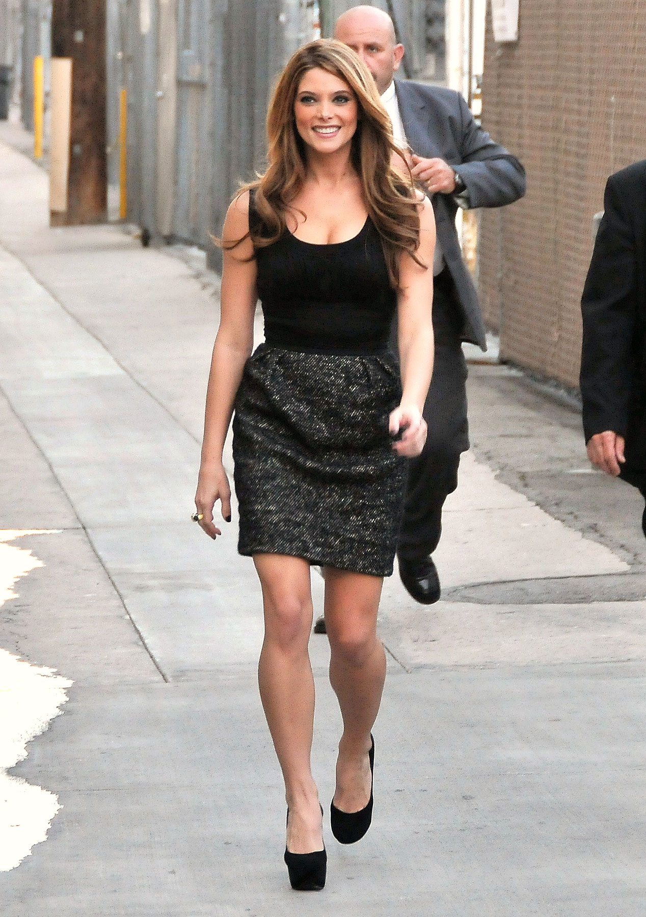 Ashley Greene Visits Jimmy Kimmel Live! (PHOTOS)