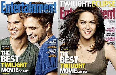 Robert Pattinson, Taylor Lautner & Kristen Stewart Talk Sexy Tent Scenes In 'Eclipse'