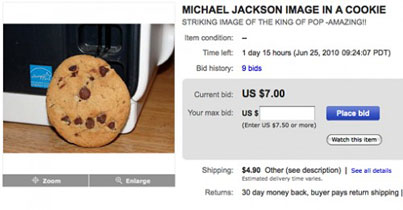 Insane Michael Jackson Memorabilia—Now Up for Bid!