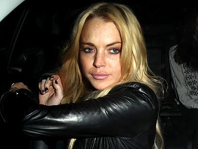 Lindsay Lohan's SCRAM Bracelet Is Making Her Crabby