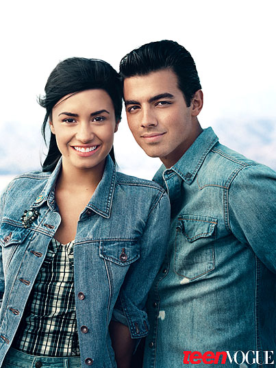 Demi Lovato & Joe Jonas Relive Their Love For 'Teen Vogue' (PHOTOS)