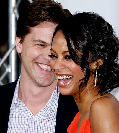 Zoe Saldana Gets Engaged