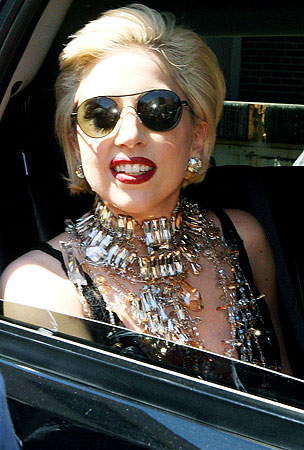 Lady Gaga Goes To College (PHOTOS)