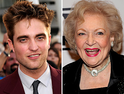 Robert Pattinson's Dream Leading Lady: Betty White
