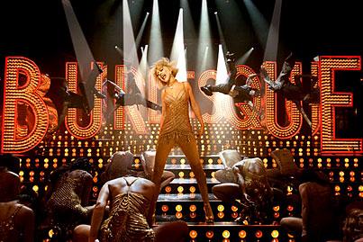 Christina Aguilera's 'Burlesque': First On-the-Set Pics! (PHOTOS)
