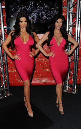 Kim Kardashian's Wax Figure Is Finally Revealed! (PHOTOS)