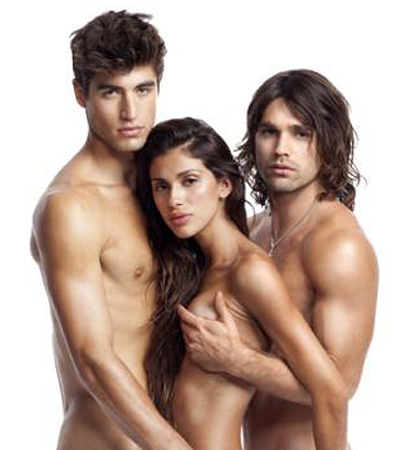 Justin Gaston Gets Naked for PETA