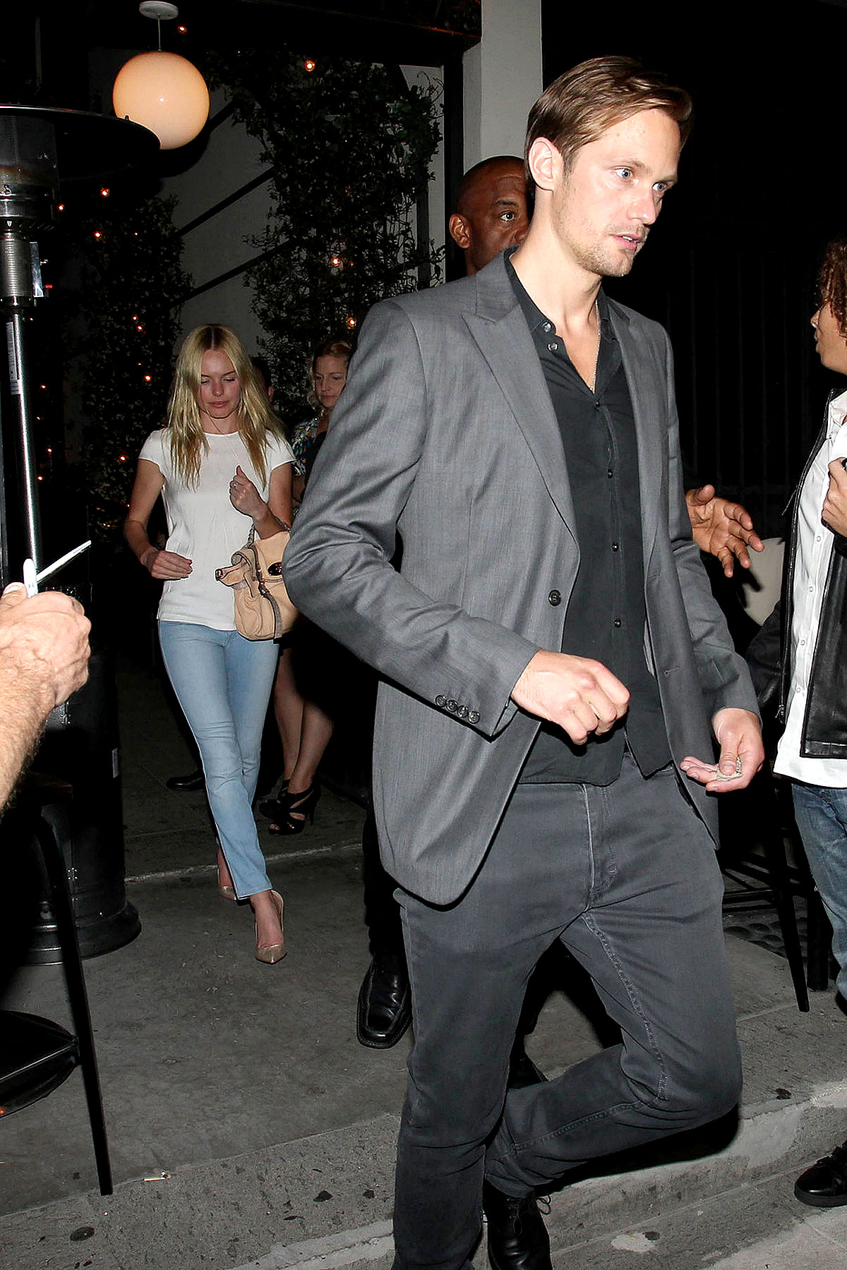 Alexander Skarsgard and Kate Bosworth's Stealth STK Date (PHOTOS)