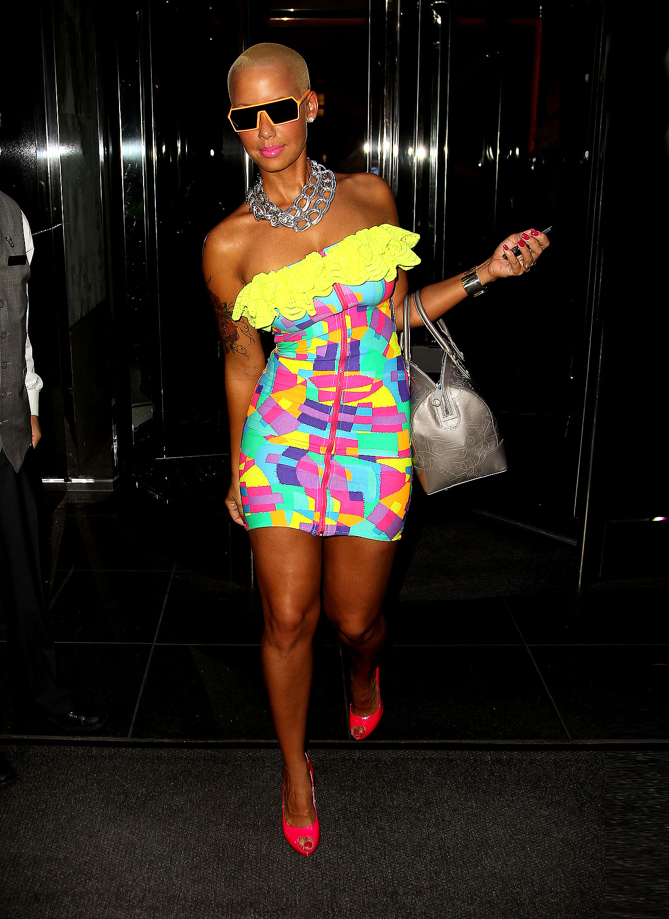 Amber Rose Will Blind You With Her Fashion (PHOTOS)