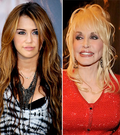 Dolly Parton Is Miley Cyrus' Fairy Godmother