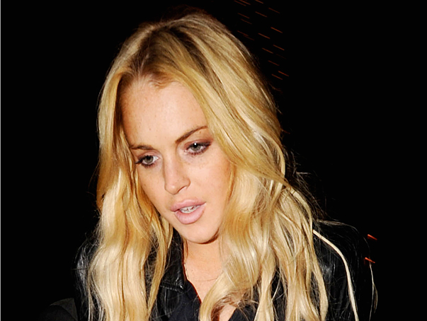 Lindsay Lohan Punched Out over Rugby Player
