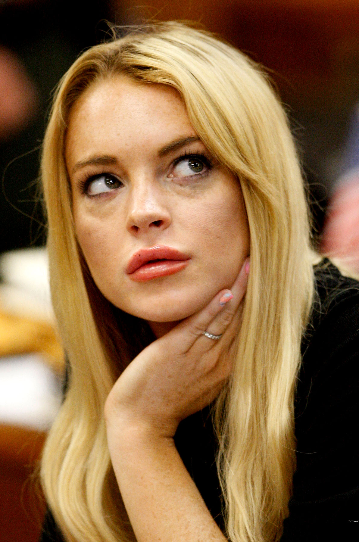 The Many Faces of Lindsay Lohan, Court Edition (PHOTOS)