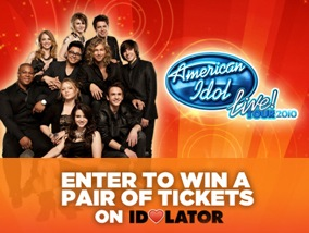 Giveaway: Win Tickets to the 'American Idols Live' 2010 Tour!