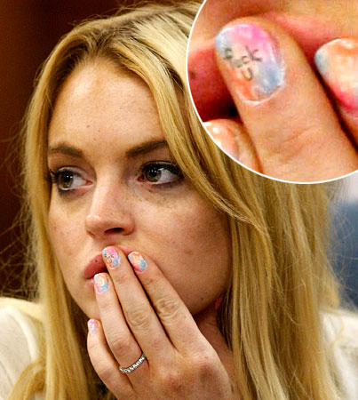 Lindsay Lohan Has A Special Message For Her Judge (PHOTOS)