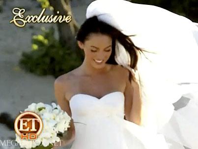 Megan Fox & Brian Austin Green's Wedding (VIDEO)