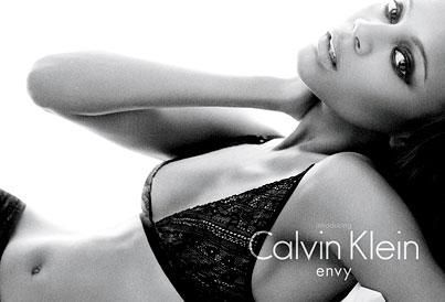 Zoe Saldana's New Calvin Klein Underwear Ad