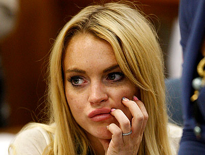 "Lindsay Lohan Claims F-Word Nail Art Was ""A Joke"""