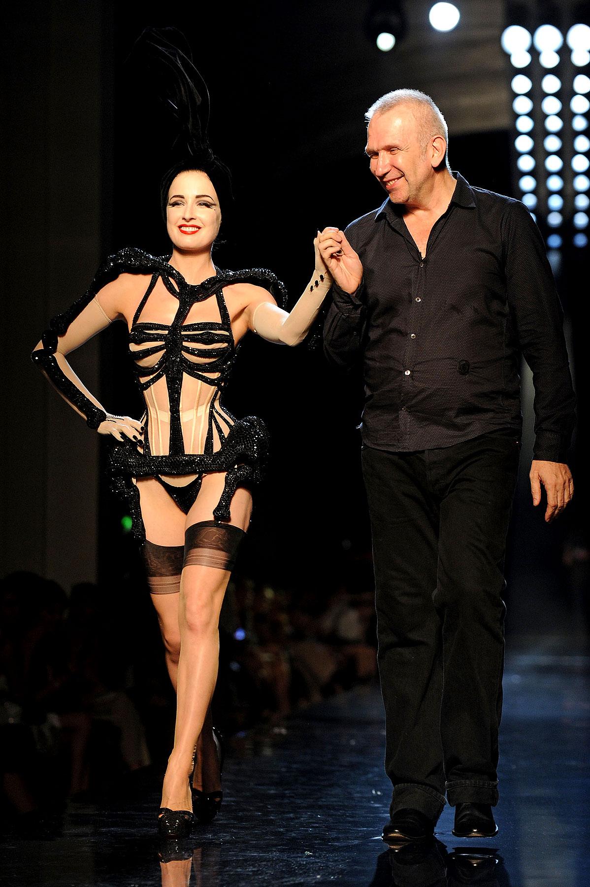 Dita Von Teese Shows Some Skin for Fashion Week (PHOTOS)