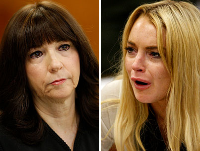 Lindsay Lohan Keeps Things Classy, Curses Out Her Judge