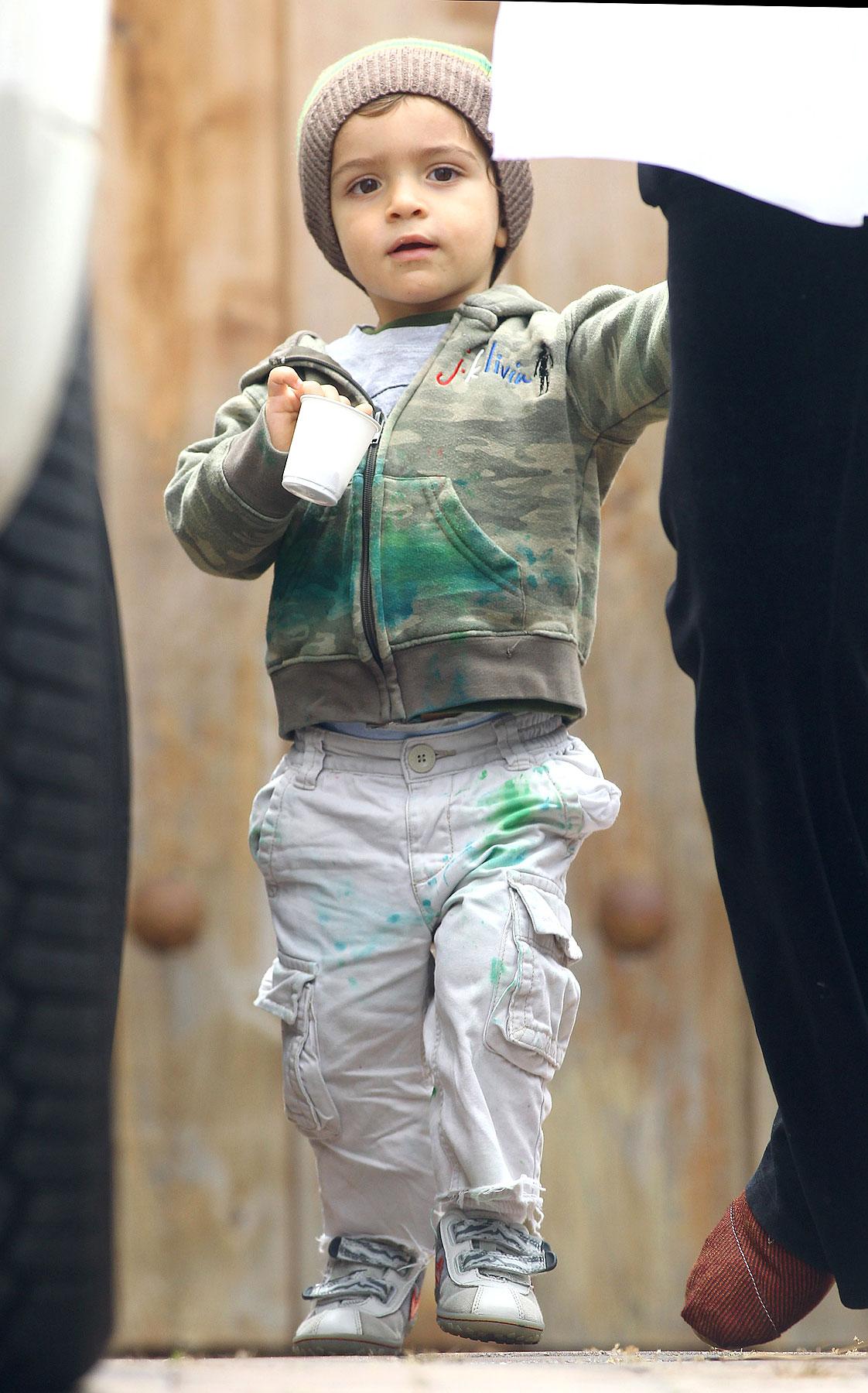 Levi McConaughey Is So Green (PHOTOS)