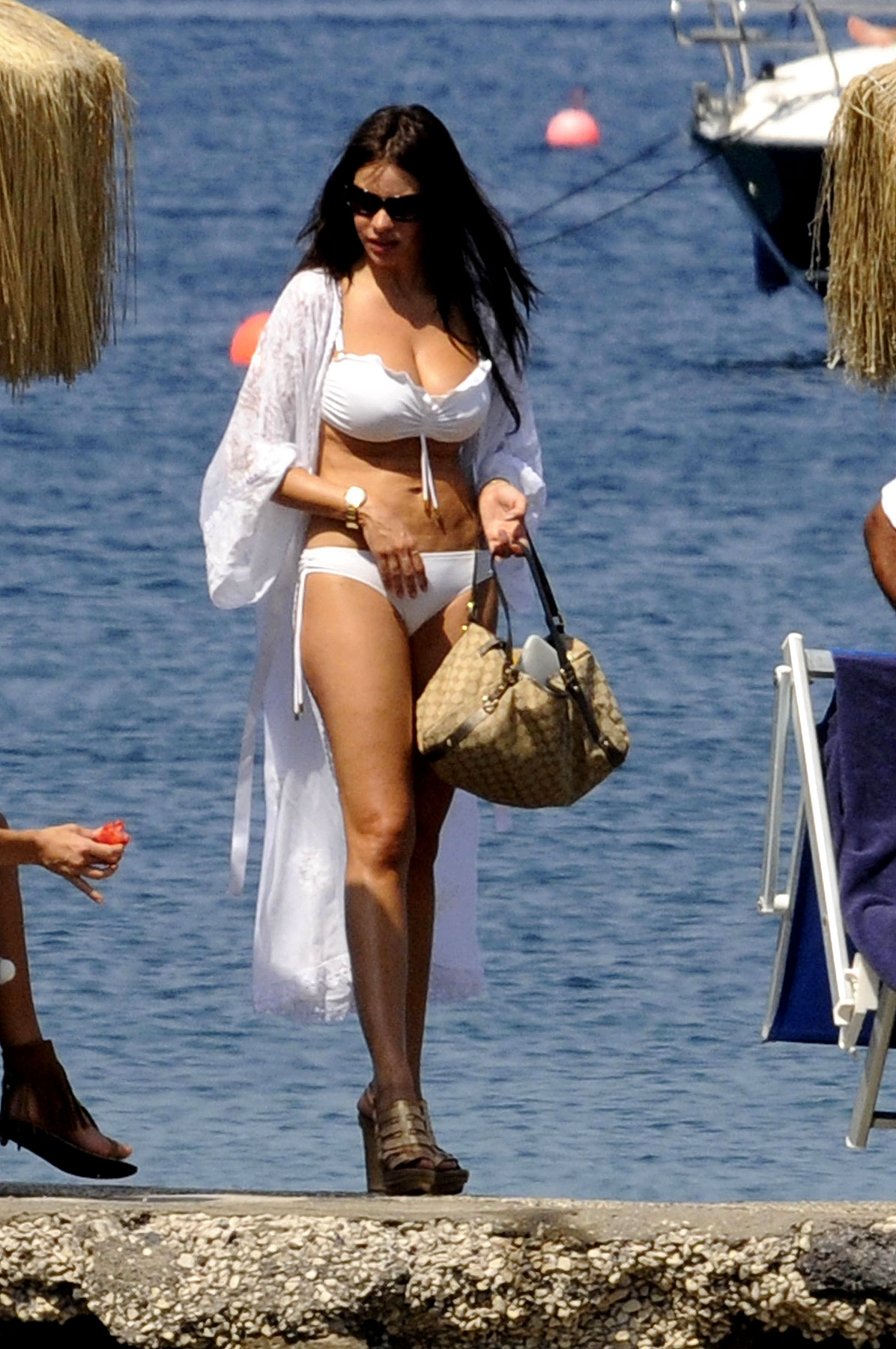 Sofia Vergara's Teeny White Bikini (PHOTOS)