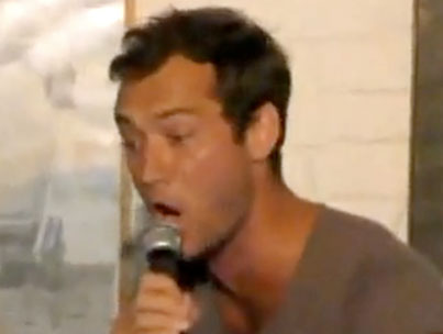 "Jude Law's ""Goode"" Karaoke Night (VIDEO)"