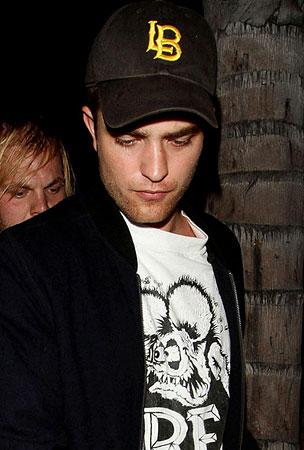 Robert Pattinson Parties In Hollywood (PHOTOS)