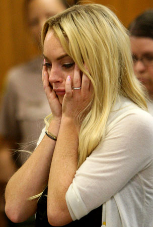 Lindsay Lohan Allegedly Put On Suicide Watch