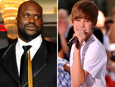 Shaquille O'Neal to Take on Justin Bieber