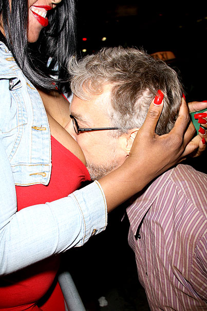 Andy Dick Motorboats A Female Fan In Hollywood (PHOTOS)