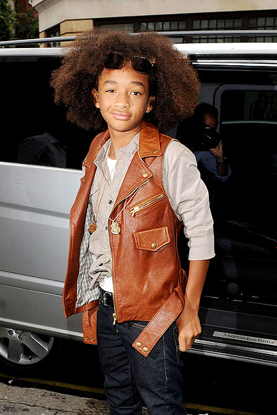 Jaden Smith Rocks His Leather Vest (PHOTOS)