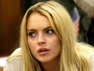 Lindsay Lohan In Denial About Jail Time