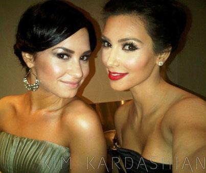 Demi Lovato Loves Kim Kardashian's Sexy Style
