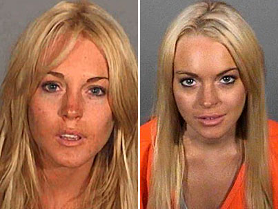 Lindsay Lohan's New Mugshot: How Does it Compare? (POLL)