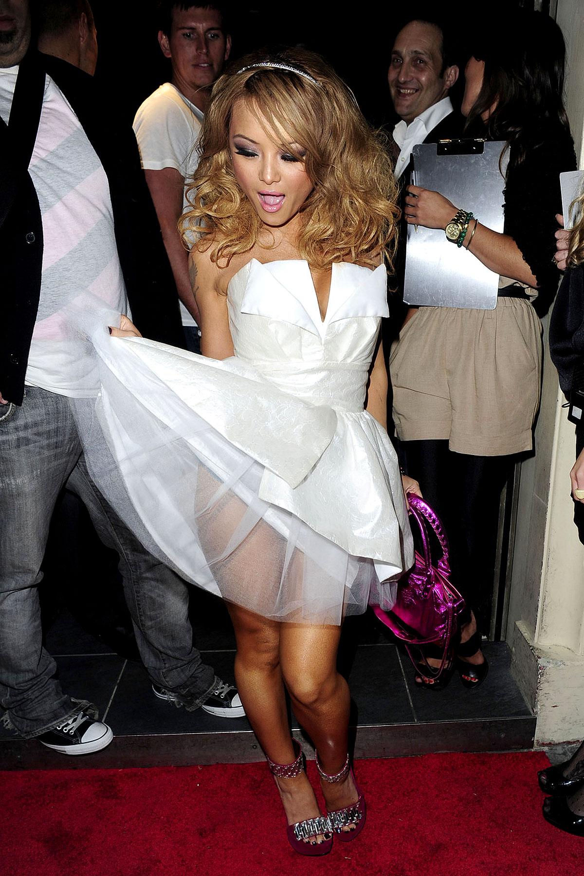 Tila Tequila Wears Princess Dress (PHOTOS)