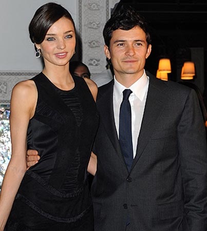 Orlando Bloom and Miranda Kerr Got Married on the Sly