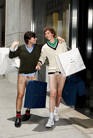 Michael Cera & Jason Schwartzman Go Pantsless for GQ (PHOTOS)