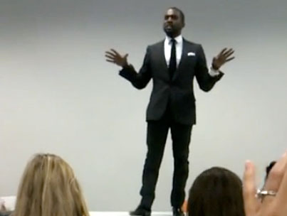 Kanye West Joins Twitter, Performs at Facebook HQ (VIDEO)