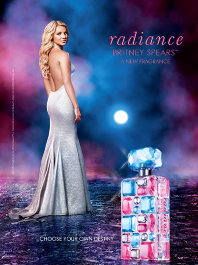 Britney Spears Is Radiant In New Perfume Ad