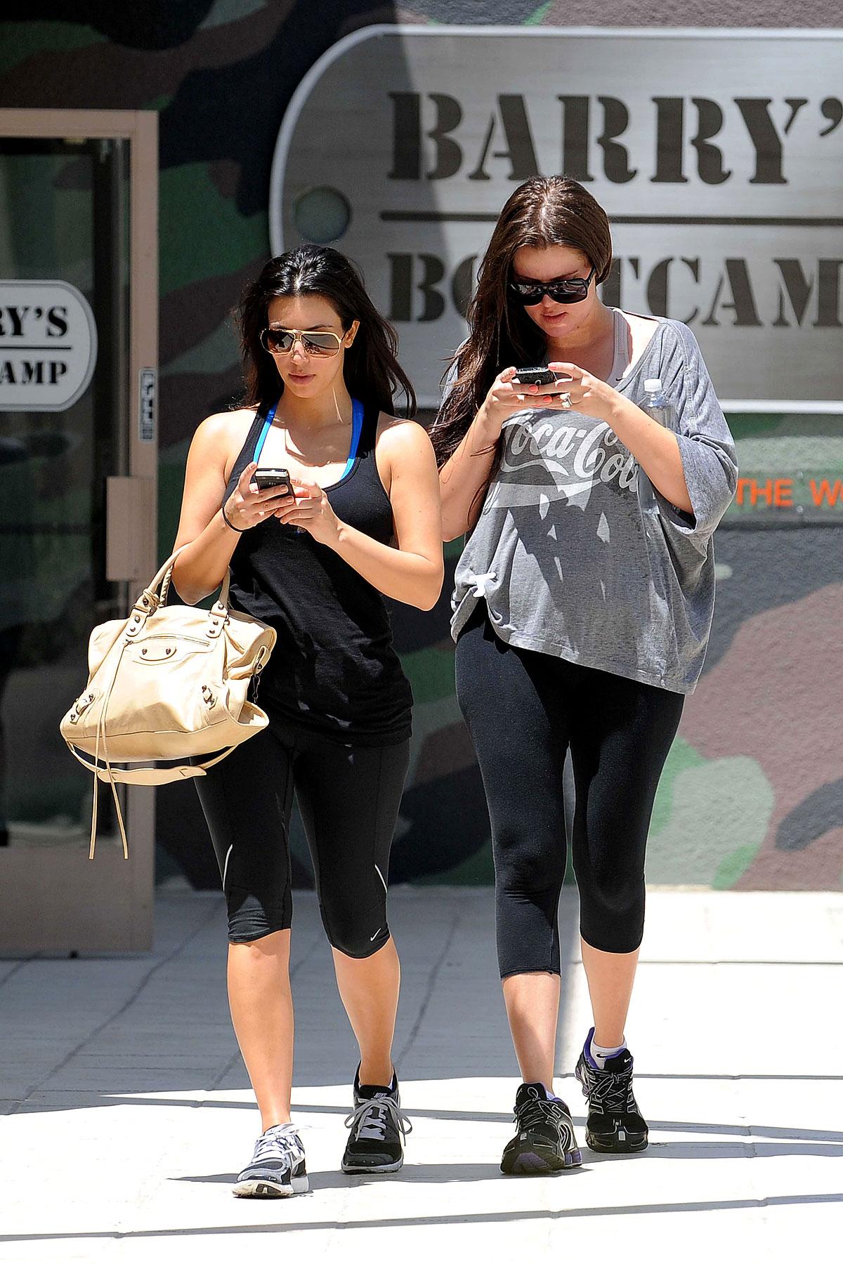 Kim & Khloe Kardashian Get the Boot (PHOTOS)