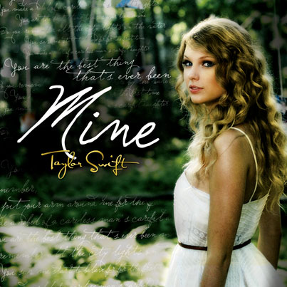 Taylor Swift Reveals 'Mine' Cover Art